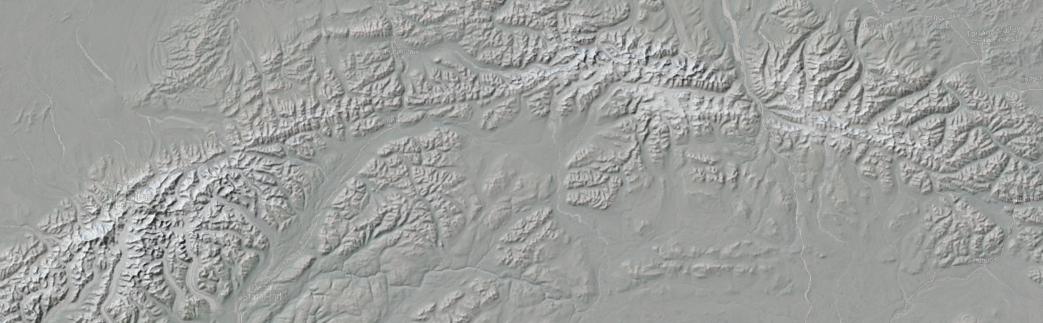 USGS 30m DEM - Alaska Range