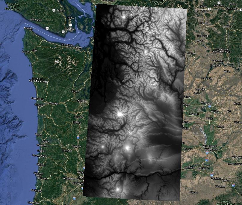 Cascades DEM via API