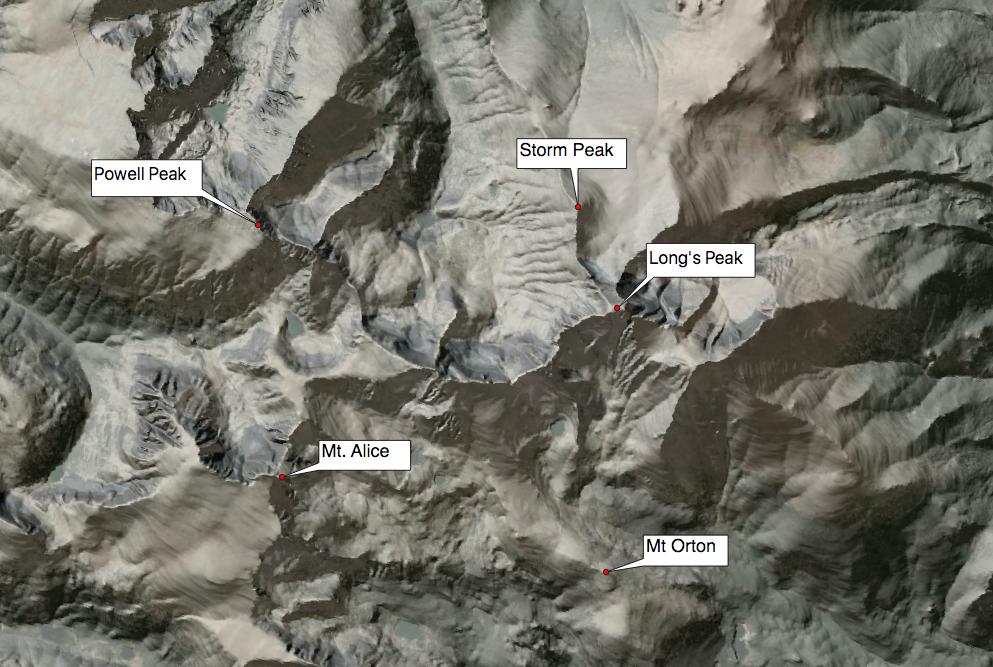 USGS 10m DEM - RMNP